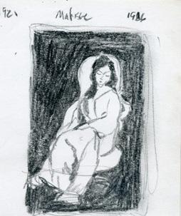 19- Matisse woman